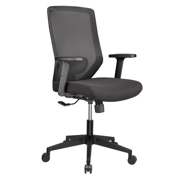 Chaise de bureau noire contemporaine ergonomique Candescence de Sonas Seating Inc. à hauteur réglable