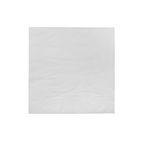 IH CASADECOR 20 Pack Luncheon 3 Ply Napkin (white) - Set of 6
