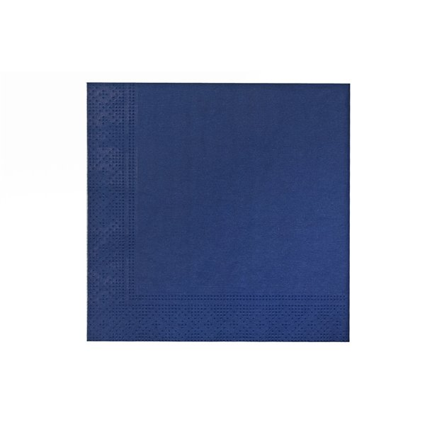 IH CASADECOR 20 Pack Luncheon 3 Ply Napkin (blue) - Set of 6