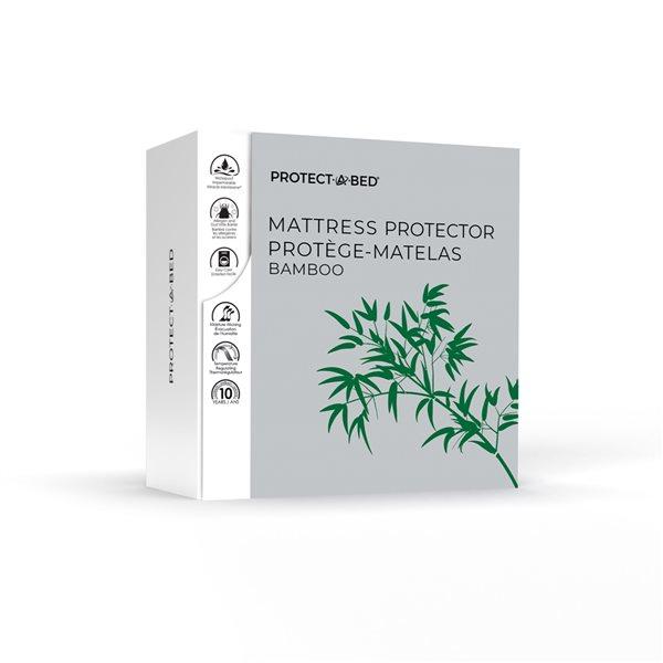 Couvre-matelas en polyester pour grand lit Protect-A-Bed, 9po p.