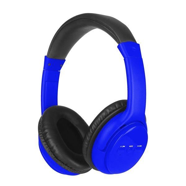 Écouteurs supra-auriculaires bleus par SYLVANIA