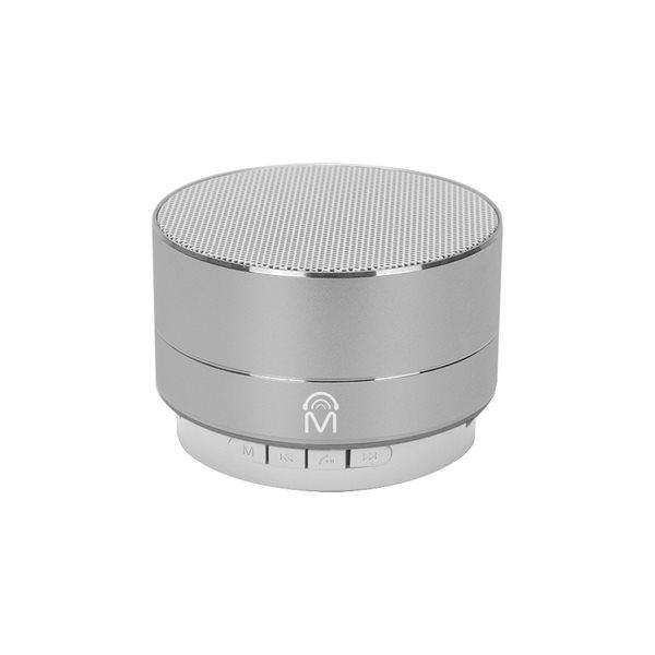 Haut-parleur Bluetooth Urban Portable en aluminium de M, lumière à DEL et mains libre