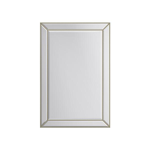 Miroir Gail rectangulaire de 24po pour salle de bains par A&E Bath and Shower, doré
