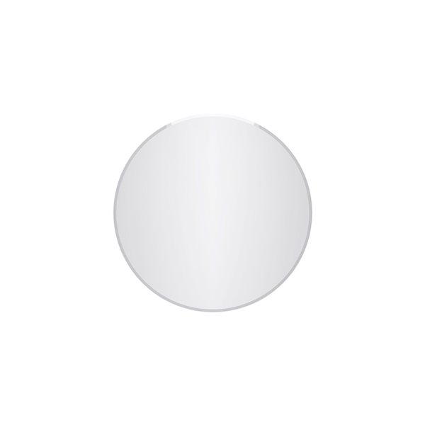 Miroir Cairo circulaire sans cadre de 24po pour salle de bains par A&E Bath and Shower