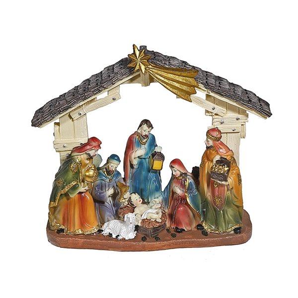 Décoration de Noël IH Casa Decor de la nativité