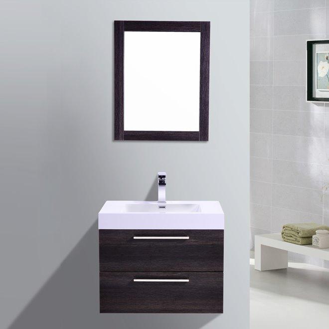 Golden Elite Golden Elite Vanity With Sink 32 Dark Oak Reno