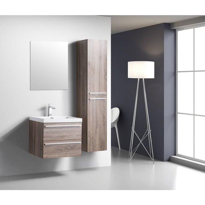 Golden Elite Golden Elite Vanity With Sink 24 Soft Oak Reno